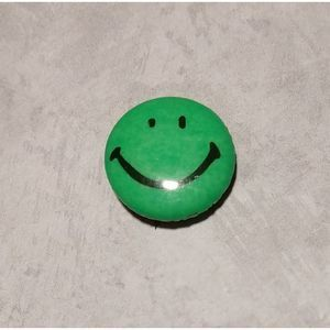 Vintage Happy Face Pin